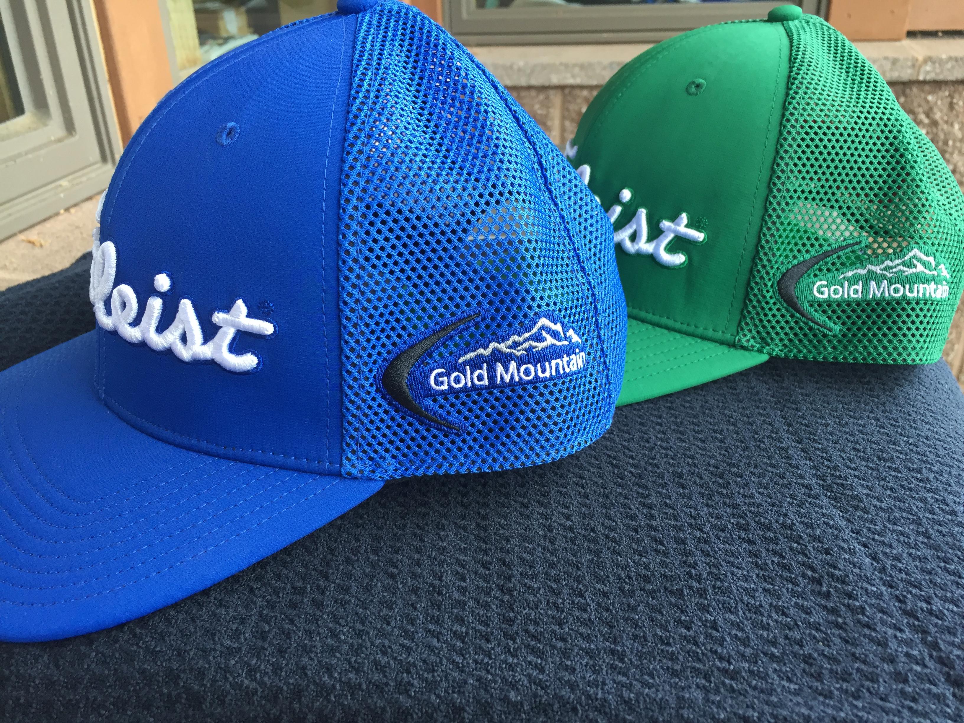 ea7a1698aef Titleist tour mesh snap back hat gold mountain golf club jpg 3264x2448 Titleist  cap side back